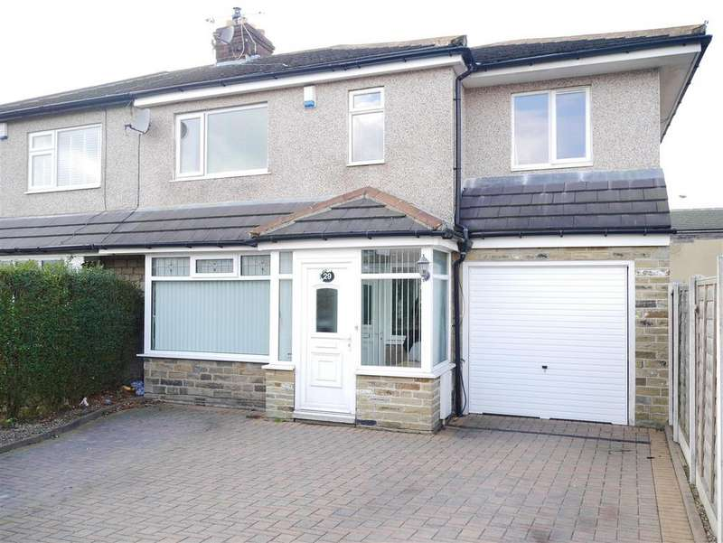 5 Bedrooms Semi Detached House for sale in Plumpton Walk, Wrose, Bradford, BD2 1PB