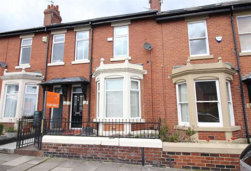 2 Bedrooms Terraced House for sale in Sackville Road, Heaton, Newcastle Upon Tyne