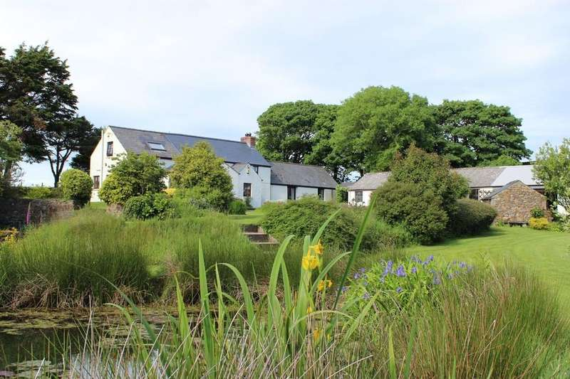 4 Bedrooms Detached House for sale in Hayscastle, Haverfordwest, Pembrokeshire