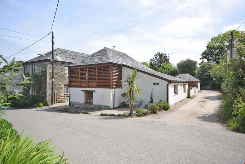2 Bedrooms Barn Conversion Character Property for sale in Talskiddy, St Columb Major, Cornwall, TR9
