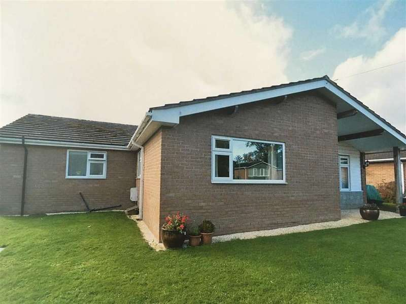 4 Bedrooms Detached Bungalow for sale in Brookside Gardens, Yockleton, Shrewsbury