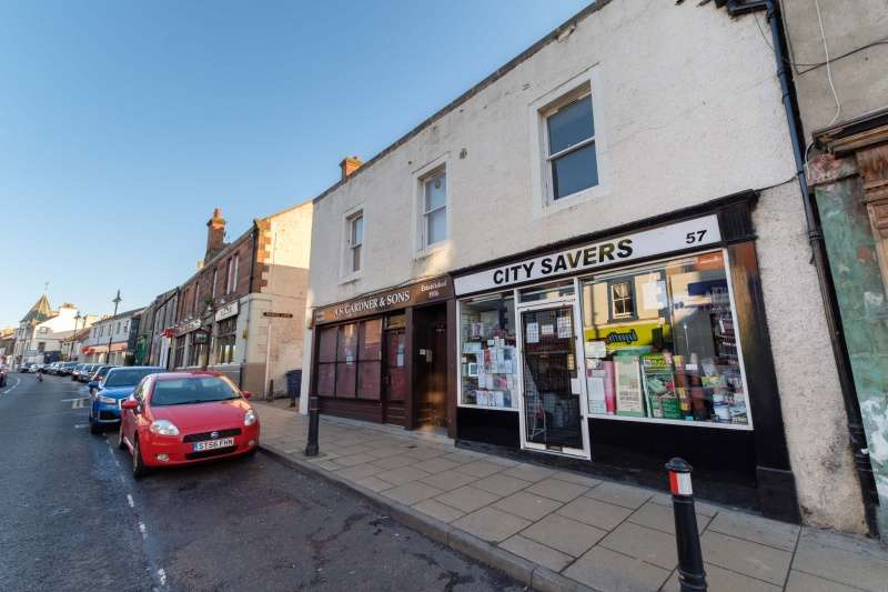 2 Bedrooms Flat for sale in High Street, Tranent, East Lothian, EH33 1LN