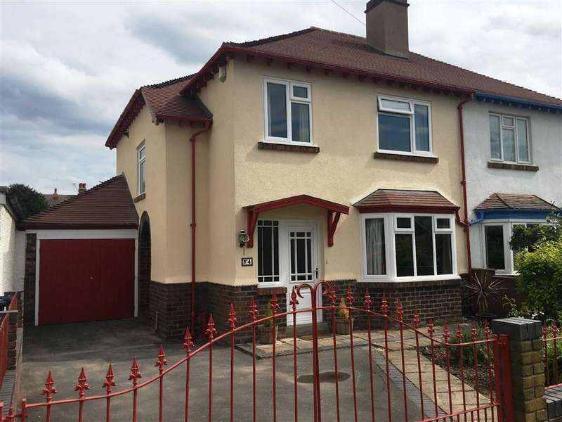 3 Bedrooms Semi Detached House for sale in Monkmoor Avenue, Shrewsbury