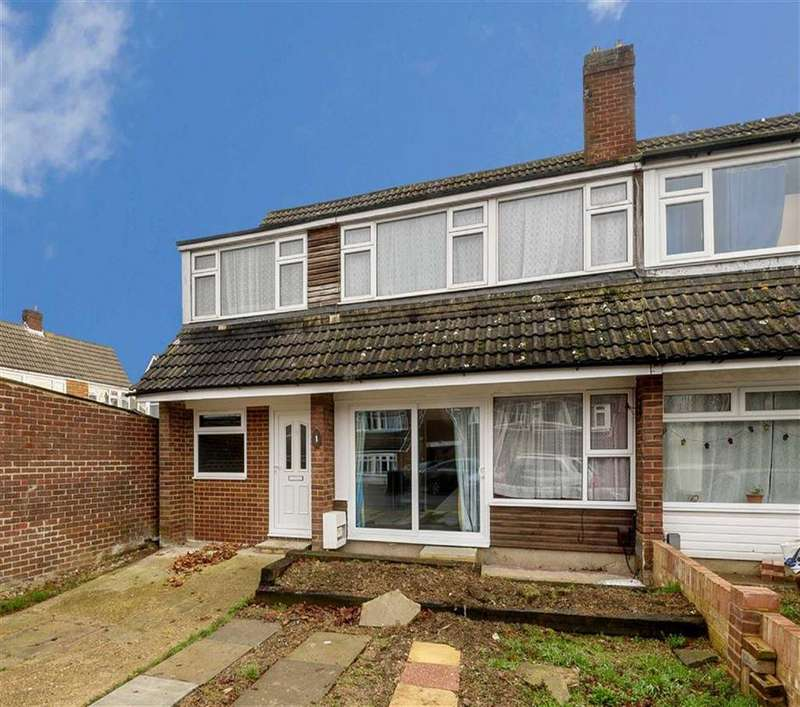 5 Bedrooms Semi Detached House for sale in Aragon Close, Ashford, Kent