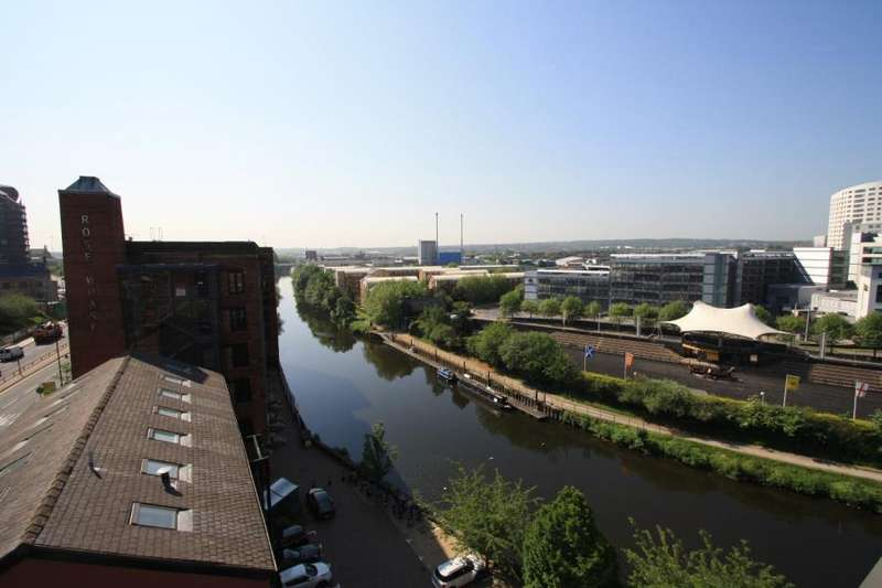 2 Bedrooms Apartment Flat for sale in ROBERTS WHARF, EAST STREET, LEEDS, LS9 8DT