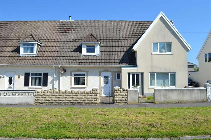 2 Bedrooms Terraced House for sale in Llwyn Derw, Fforestfach, Swansea