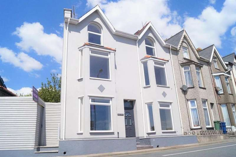 5 Bedrooms End Of Terrace House for sale in Bay View Terrace, Pwllheli