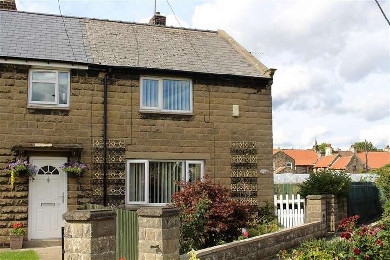 2 Bedrooms End Of Terrace House for sale in Coronation Gardens, Staindrop, County Durham