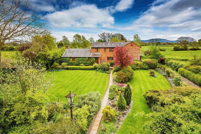 3 Bedrooms Detached House for sale in Maesbrook, Oswestry