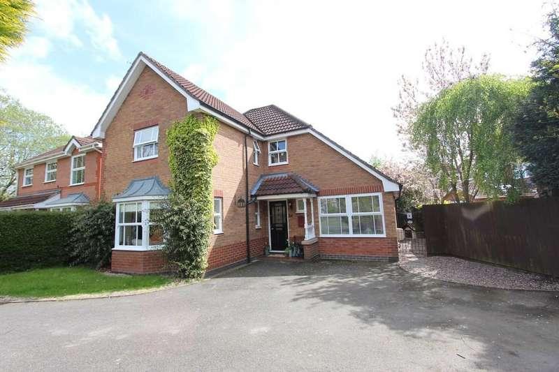 4 Bedrooms Detached House for sale in Buckminster Drive, Dorridge