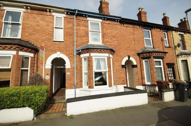 2 Bedrooms Terraced House for sale in Sibthorp Street, Lincoln