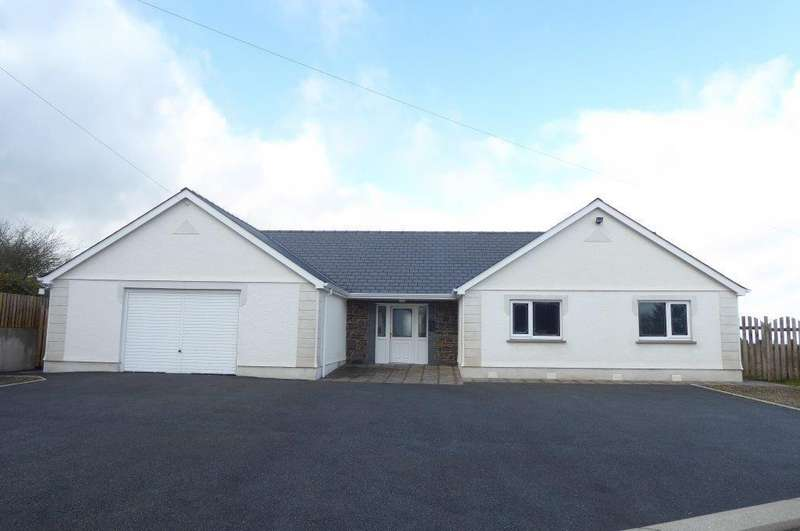 3 Bedrooms Bungalow for sale in Bancyffordd, Llandysul