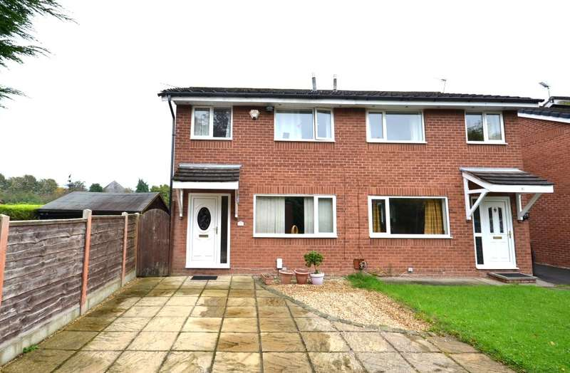 3 Bedrooms Semi Detached House for sale in Priory Drive, Macclesfield