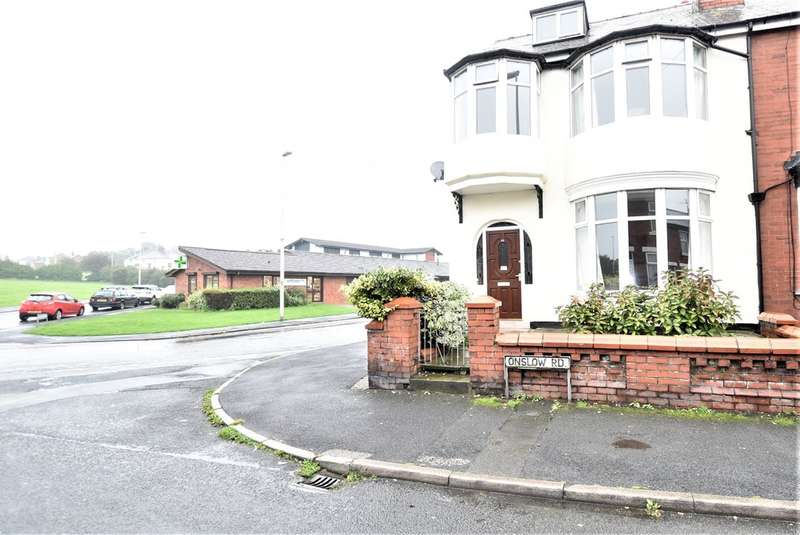 3 Bedrooms Semi Detached House for sale in Onslow Road, Blackpool
