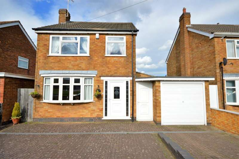 3 Bedrooms Detached House for sale in Aylestone Lane, Wigston, LE18 1BE