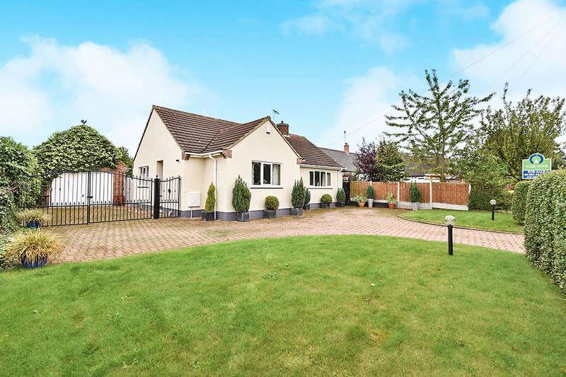 4 Bedrooms Detached Bungalow for sale in Repton Road, Newton Solney, Burton-On-Trent, DE15