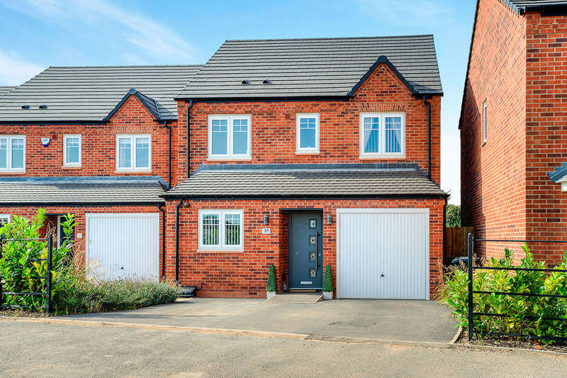3 Bedrooms Detached House for sale in Greendale Road, Nuneaton, CV11