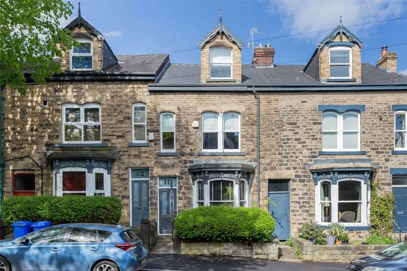 4 Bedrooms Terraced House for rent in Briar Road, Nether Edge, Sheffield, S7