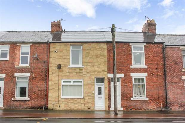 2 Bedrooms Terraced House for sale in Front Street, Pity Me, Durham