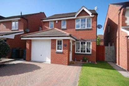 3 Bedrooms Detached House for sale in The Pastures, New Bold, St. Helens, Merseyside, WA9