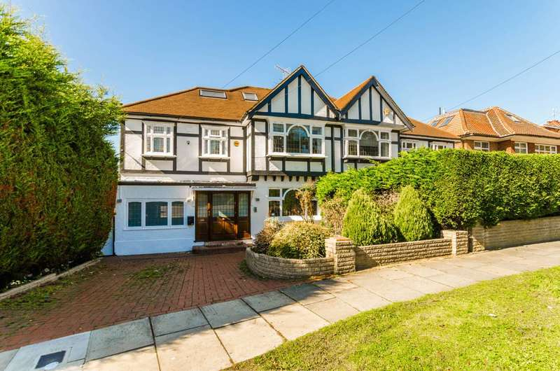 5 Bedrooms Semi Detached House for sale in Deansway, East Finchley, N2
