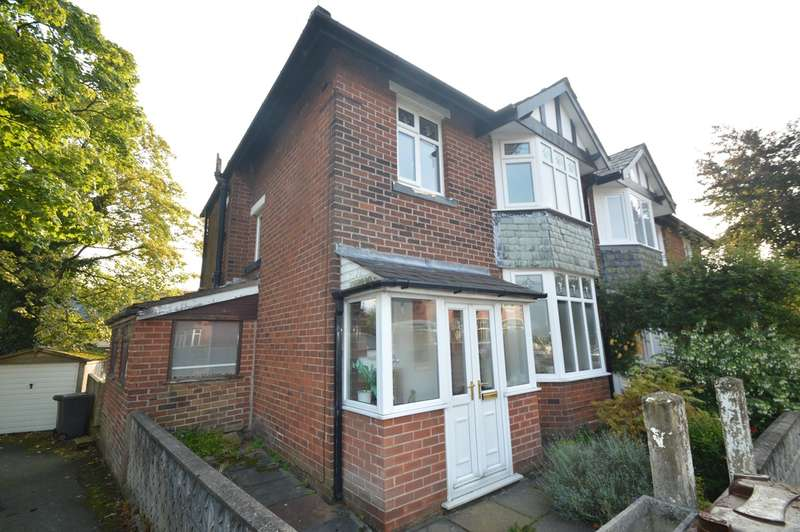 3 Bedrooms Semi Detached House for sale in Cromwell Road, Whitefield, Manchester, M45