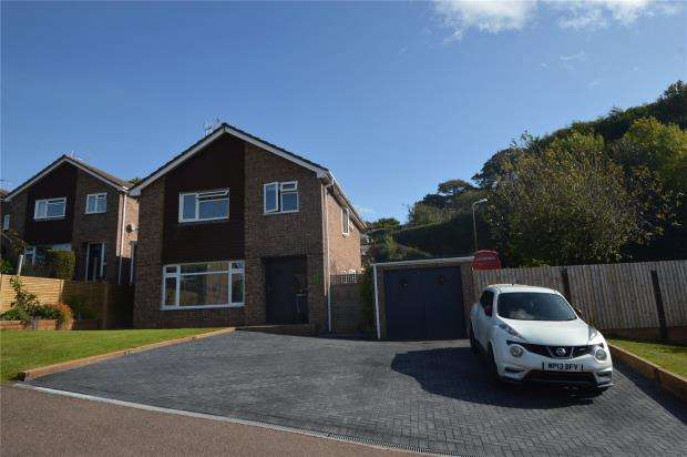 4 Bedrooms Detached House for sale in Tuckers Meadow, Crediton, Devon
