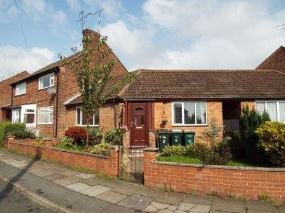 1 Bedroom Bungalow for sale in Chetwode Close, Allesley Park, Coventry