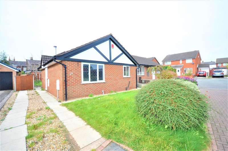 2 Bedrooms Detached Bungalow for sale in Crofters Green, Ashton, Preston, Lancashire, PR1 7UG