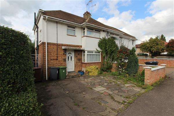 3 Bedrooms Semi Detached House for sale in Whitehouse Avenue, Borehamwood