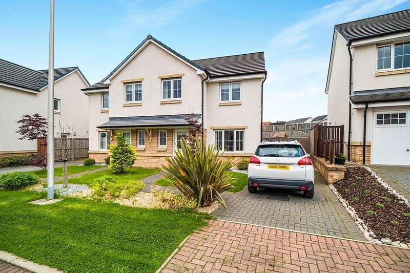 3 Bedrooms Semi Detached House for sale in Sandyriggs Gardens, Dalkeith, EH22