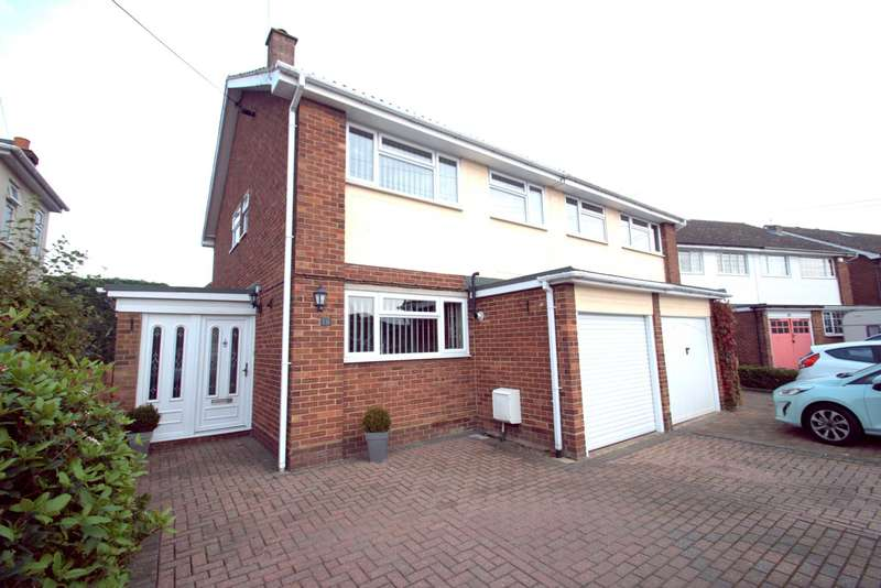 3 Bedrooms Semi Detached House for sale in Elm Road, Chelmsford