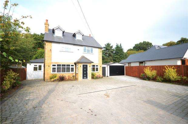 5 Bedrooms Detached House for sale in Salisbury Terrace, Mytchett, Camberley