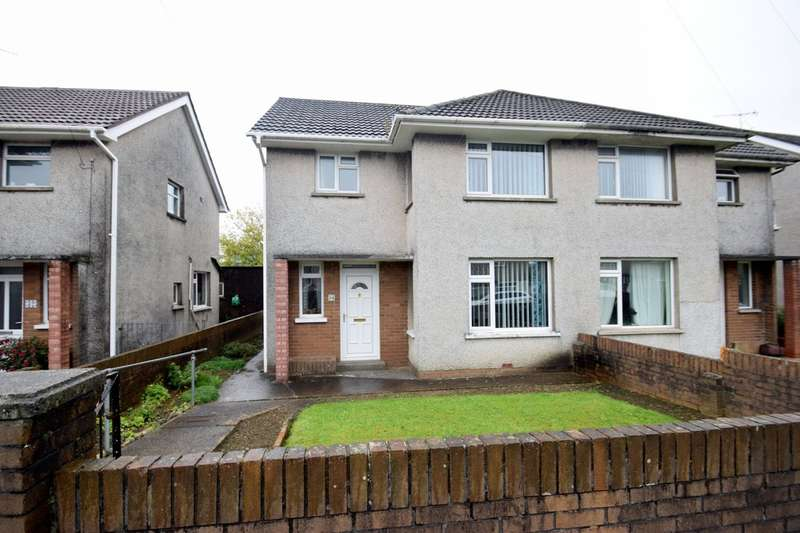 3 Bedrooms Semi Detached House for sale in 34 Heol Adare, Tondu, Bridgend, Bridgend County Borough, CF32 9EP.