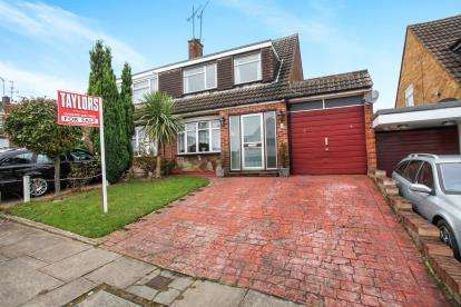 3 Bedrooms Semi Detached House for sale in Glemsford Close, Luton, Bedfordshire