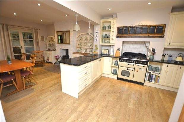 3 Bedrooms Semi Detached House for sale in Lansdown, Stroud, Gloucestershire, GL5 1BW