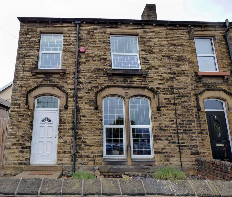 4 Bedrooms End Of Terrace House for sale in Glebe Street, Marsh, Huddersfield, HD1 4NP