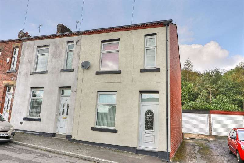 3 Bedrooms End Of Terrace House for sale in James Street, Littleborough, OL15 8NF