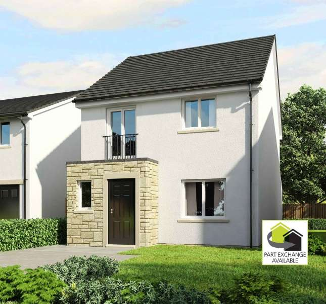 3 Bedrooms House for sale in Fullerton Place, Patna, East Ayrshire, KA6 7NN