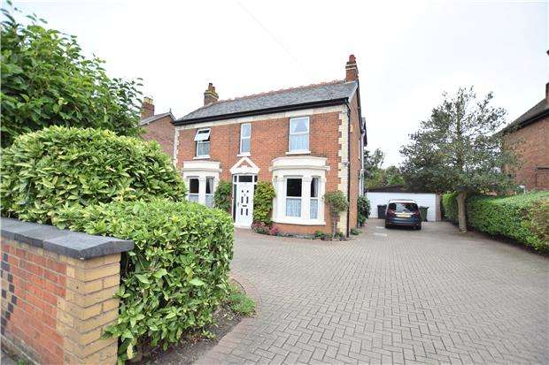 4 Bedrooms Detached House for sale in Oxstalls Lane, Longlevens, GLOUCESTER, GL2 9HX