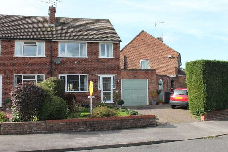 3 Bedrooms Semi Detached House for sale in Mayswood Road, Solihull