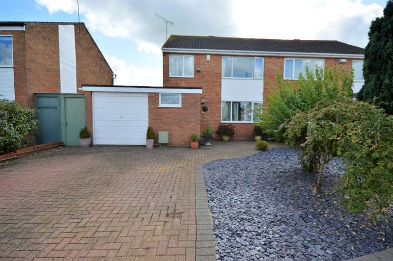 3 Bedrooms Semi Detached House for sale in Skye Way, Countesthorpe, Leicester, LE8 5TY