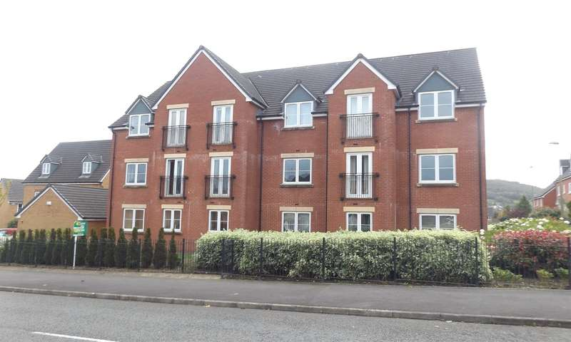 1 Bedroom Flat for sale in Knights Walk, Caerphilly