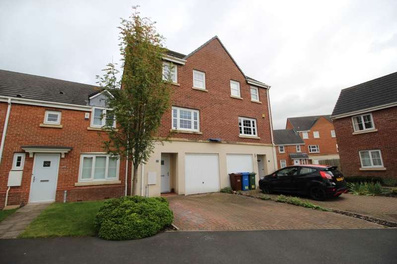 3 Bedrooms Terraced House for sale in Baker Close, Buckshaw Village, Chorley, PR7
