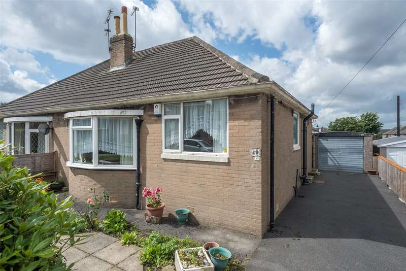 2 Bedrooms Semi Detached Bungalow for sale in Lulworth Crescent, Leeds, West Yorkshire, LS15