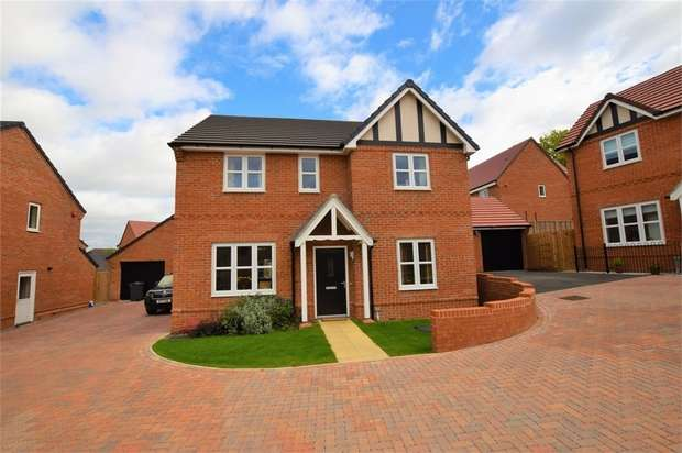 4 Bedrooms Detached House for sale in Harcourt Way, NORTHAMPTON