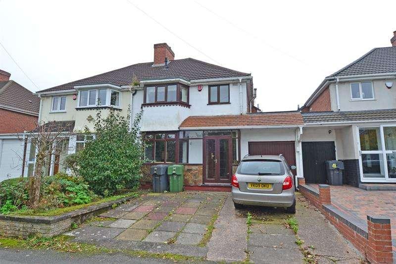 3 Bedrooms Semi Detached House for sale in New Inns Lane, Rednal, Birmingham