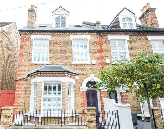 5 Bedrooms Semi Detached House for sale in Balvernie Grove, LONDON, SW18 5RT