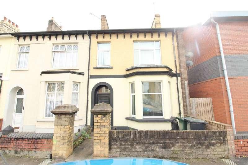2 Bedrooms Ground Flat for sale in Caerleon Road, Newport, NP19