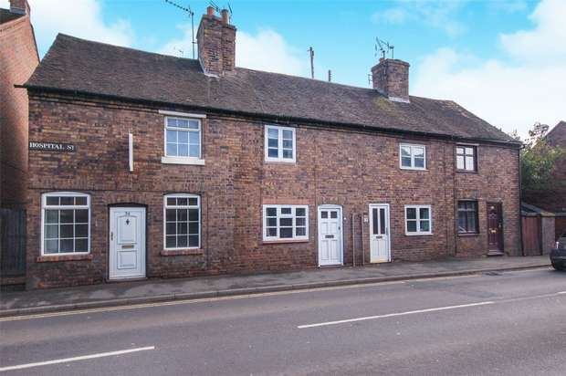 2 Bedrooms Terraced House for sale in Hospital Street, BRIDGNORTH, Shropshire